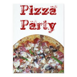 """Pizza de la combinación invitación 5.5"""" x 7.5"""""""