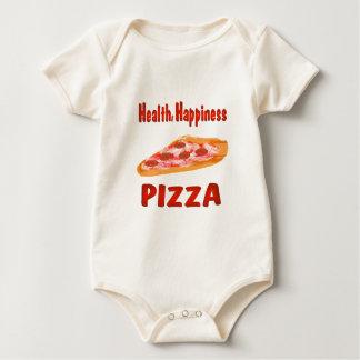 Pizza de la felicidad de la salud body de bebé