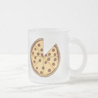 Pizza de la pizza de la pizza tazas de café