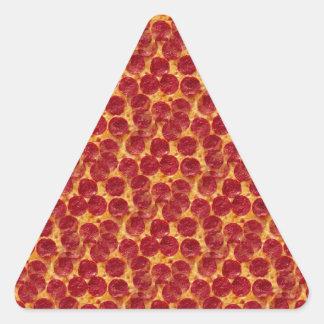 pizza de la pizza pegatina triangular