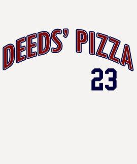 Pizza de los hechos, camiseta divertida de la playera