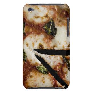pizza de queso madera-encendida