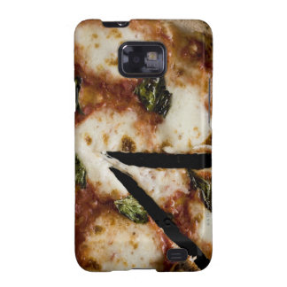 pizza de queso madera-encendida galaxy s2 cobertura