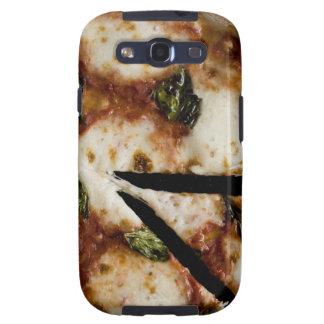 pizza de queso madera-encendida galaxy s3 cárcasas
