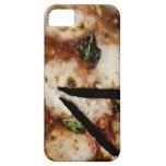 pizza de queso madera-encendida iPhone 5 carcasas