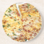 Pizza de queso posavasos manualidades