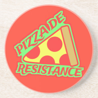 Pizza de Resistance Coaster