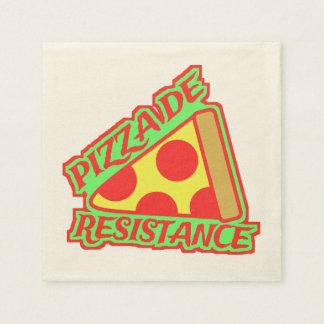 Pizza de Resistance Servilleta De Papel