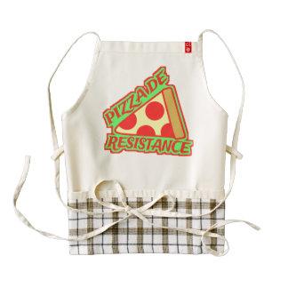 Pizza de Resistance Zazzle HEART Apron