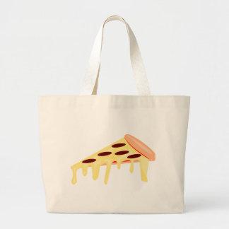 Pizza de salchichones bolsa tela grande