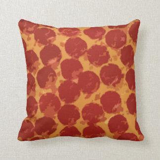Pizza de salchichones cojín
