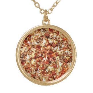 Pizza de salchichones de la salchicha joyerias personalizadas