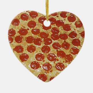 Pizza de salchichones ornamento de reyes magos