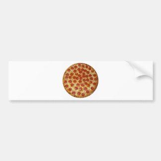 Pizza de salchichones deliciosa de la pizza… pegatina para auto