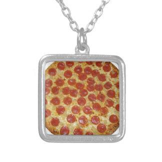 Pizza de salchichones deliciosa de la pizza… colgante
