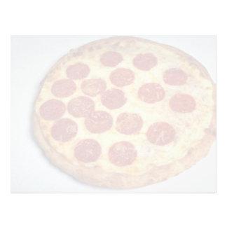 Pizza de salchichones deliciosa membrete a diseño