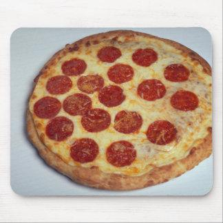 Pizza de salchichones deliciosa tapete de ratones