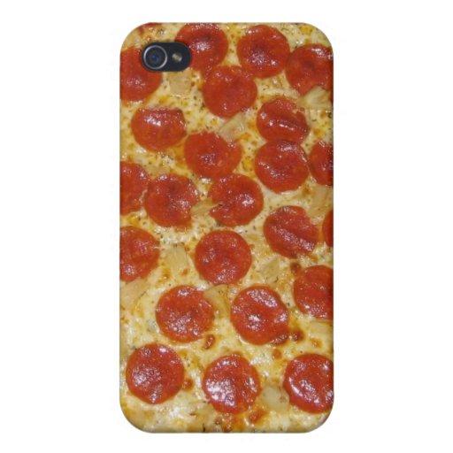 pizza de salchichones divertida iPhone 4/4S carcasas
