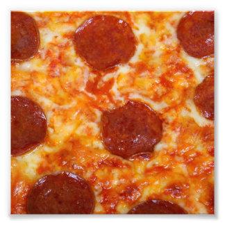 Pizza de salchichones fotografías