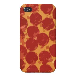 Pizza de salchichones iPhone 4/4S fundas