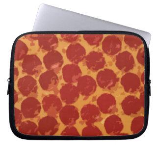 Pizza de salchichones funda ordendadores