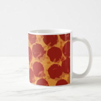 Pizza de salchichones grande taza clásica