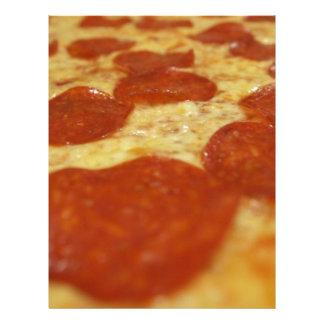 pizza de salchichones membretes personalizados