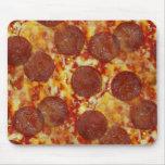 Pizza de salchichones Mousepad Tapetes De Raton