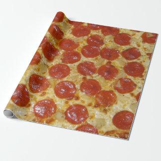 Pizza de salchichones papel de regalo