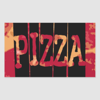 Pizza de salchichones etiqueta