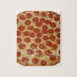 Pizza de salchichones puzzle