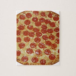 Pizza de salchichones rompecabeza