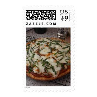 Pizza de salchichones sellos
