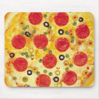 Pizza de salchichones tapetes de raton