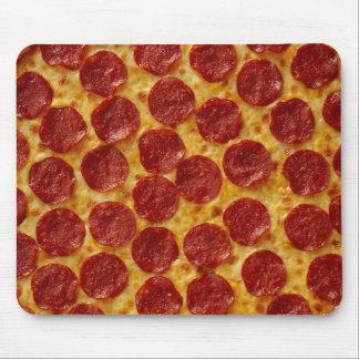 Pizza de salchichones alfombrillas de raton