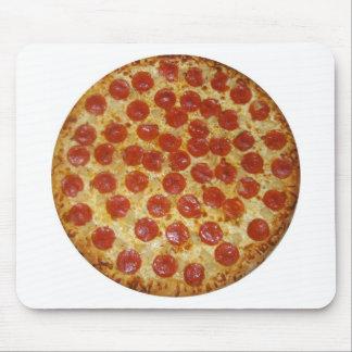 Pizza de salchichones alfombrilla de ratón