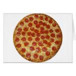 Pizza de salchichones tarjetas