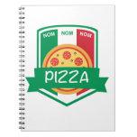 Pizza del nom de Nom Cuaderno