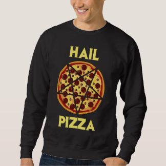 Pizza del saludo sudadera