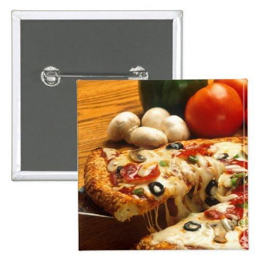 Pizza deliciosa pins