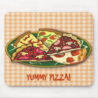Pizza deliciosa tapete de ratón