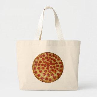 Pizza...Delicious Pepperoni Pizza Canvas Bag