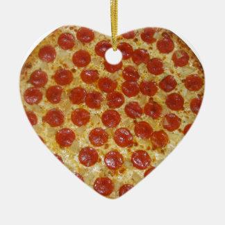 Pizza...Delicious Pepperoni Pizza Christmas Ornaments
