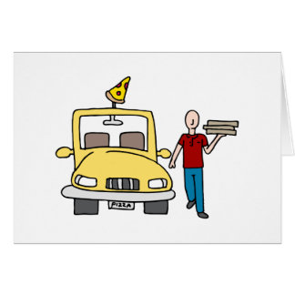 Pizza Delivery Driver Card