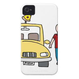 Pizza Delivery Driver iPhone 4 Cover