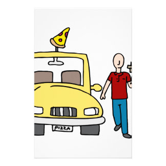 Pizza Delivery Driver Stationery