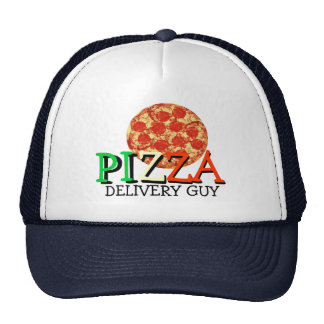 Pizza Delivery Guy Hat