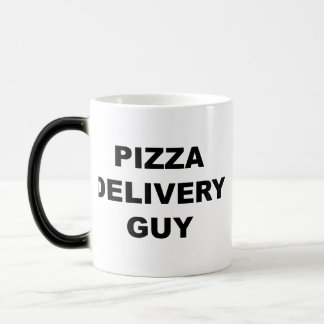 Pizza Delivery Guy Magic Mug