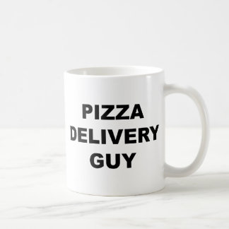 Pizza Delivery Guy Coffee Mugs