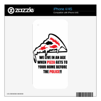 Pizza Delivery iPhone 4S Decals